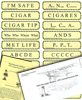 Pilot Reminder Stickers: VFR Comprehensive Set